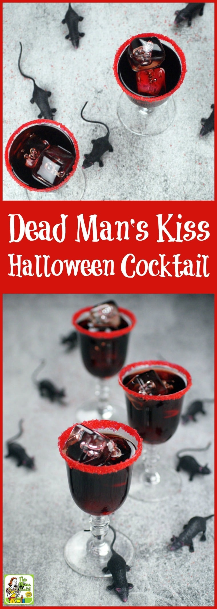 Dead Man's Kiss Black Cocktail Recipe