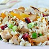 Looking for healthy turkey leftover recipes? Try Turkey Apricot Rice Salad!