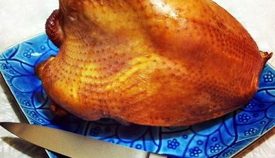 How to brine and smoke a turkey breast
