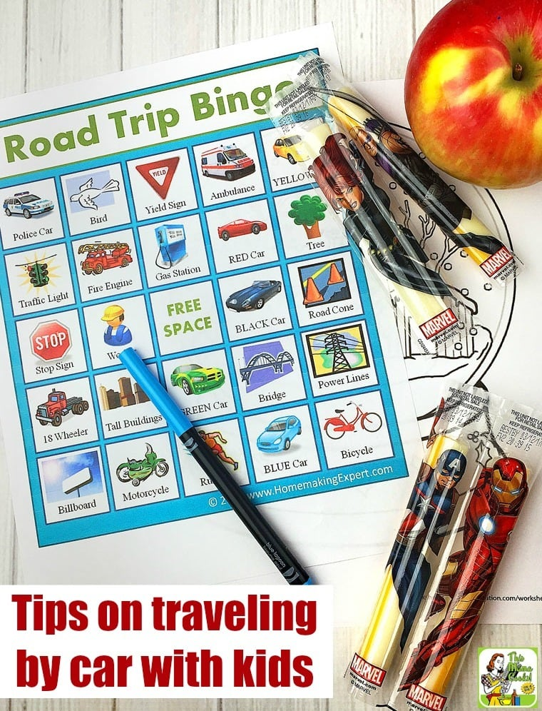 Going a on a long car trip? Here are tips on how to travel by car with kids.