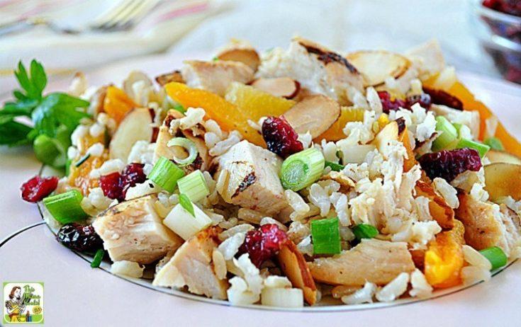 Turkey Apricot Rice Salad Recipe