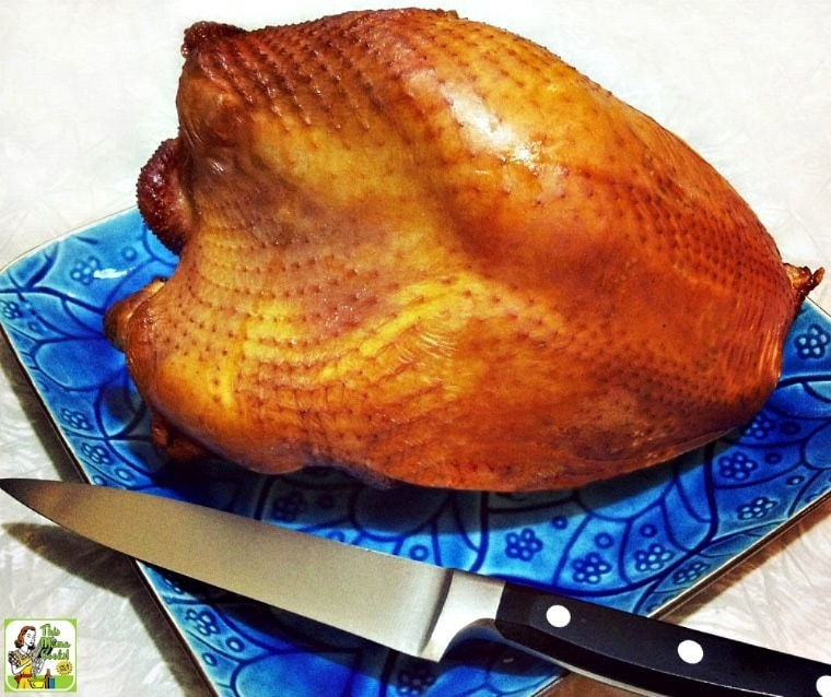 How to make a smoked turkey breast brine.