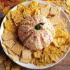 Make this Pimento Cheese Spread Recipe into a Pumpkin