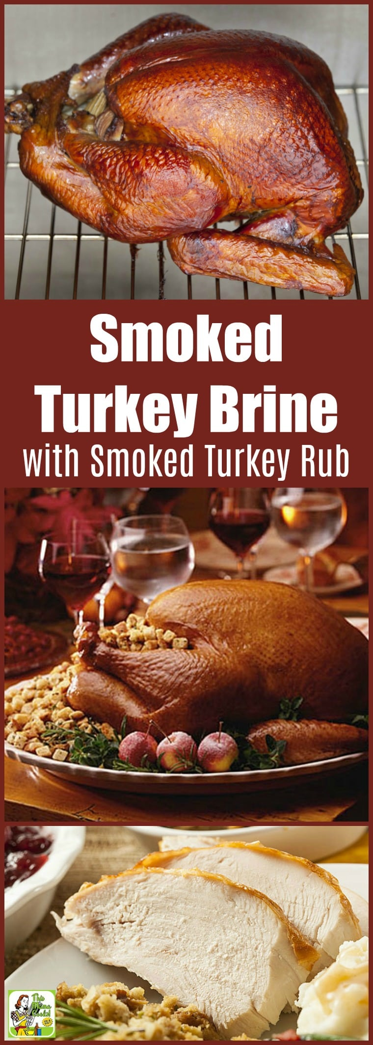 Smoked Turkey Brine with Smoked Turkey Rub Recipe