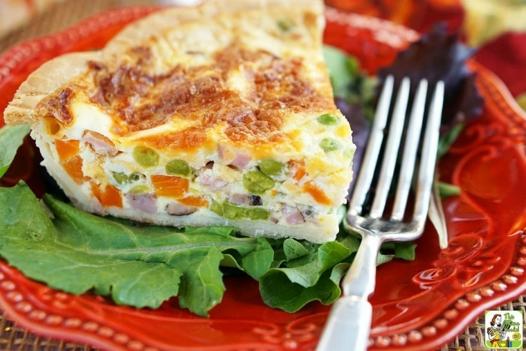 Quick Quiche - A Simple Quiche Recipe