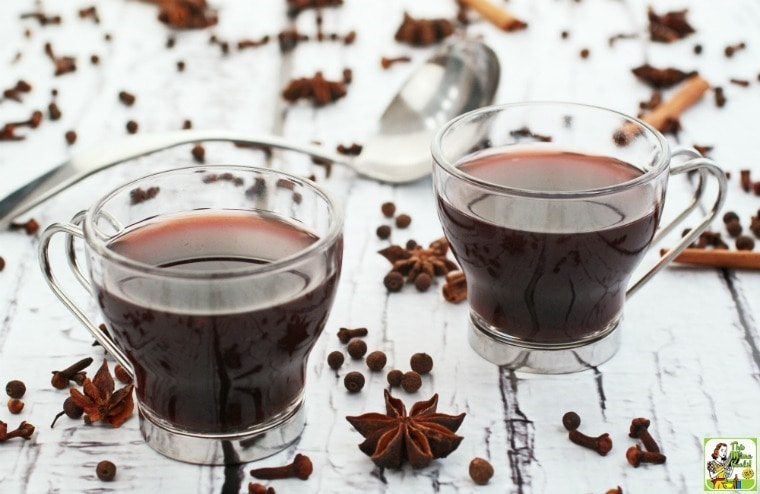 Warm up with some Slow Cooker Mulled Wine