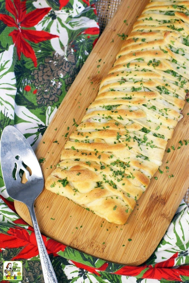 Turkey Cranberry Crescent Braid Recipe
