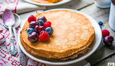 Easy Gluten Free Crepes with Rice Flour