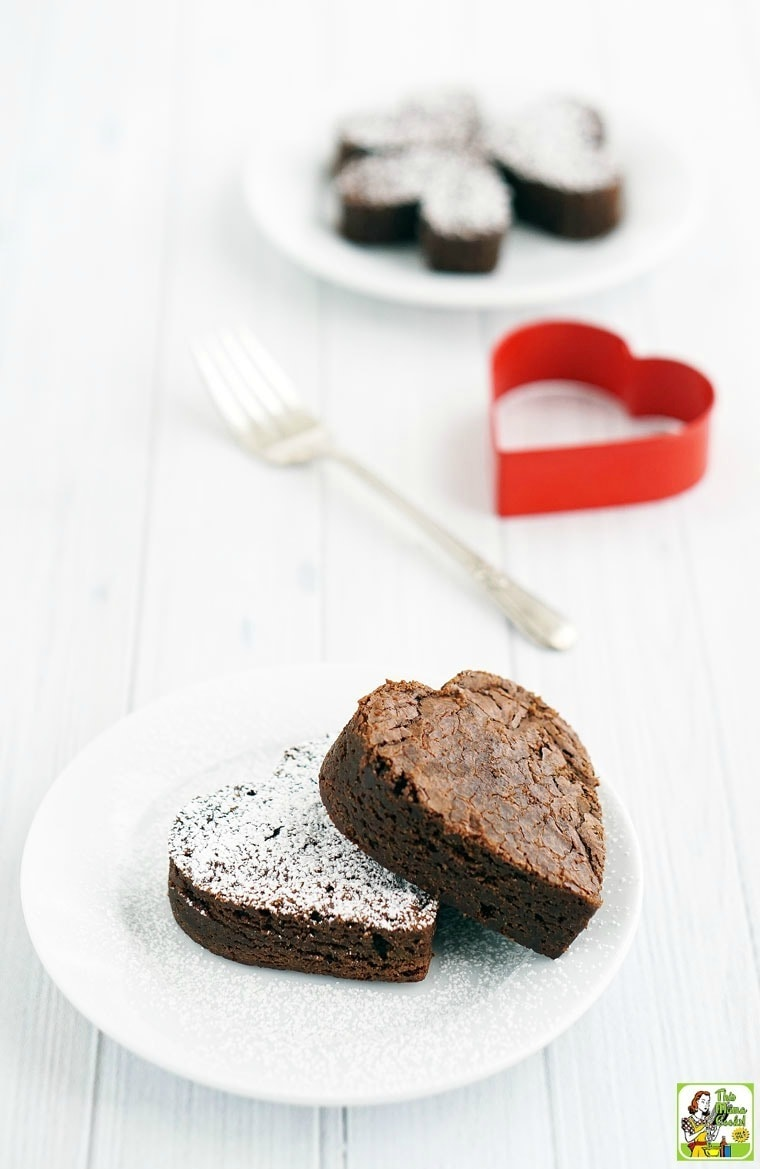 Best Gluten Free Fudgy Brownies Ever - You can make this recipe both gluten and dairy free using a vegan buttery spread or dairy free margarine.