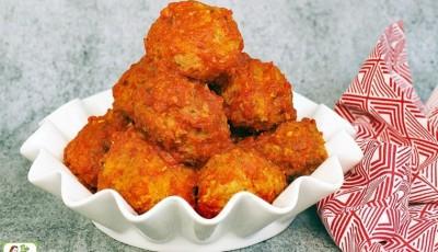 Gluten Free Slow Cooker Turkey Meatballs Recipe