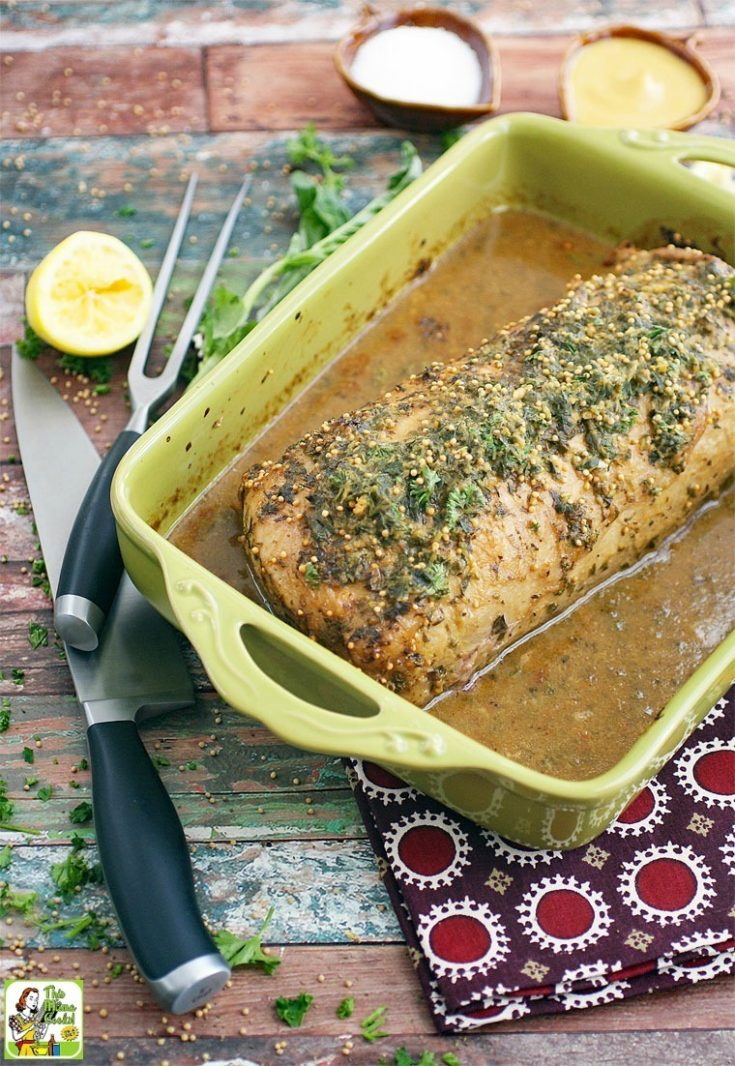Best Herb & Lemon Pork Loin Marinade Recipe for Pork Roast