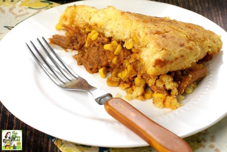 Quick & Easy Pulled Pork & Cornbread Skillet Dinner