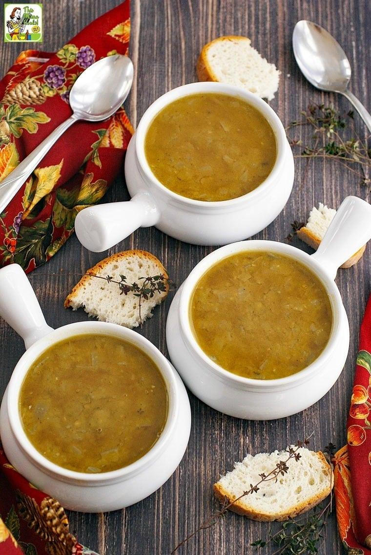 Simple & Healthy Split Pea Soup recipe