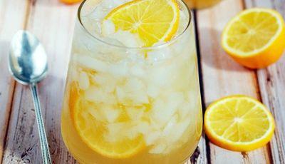 Got lemons? Make this Meyer lemon shrub drink recipe!