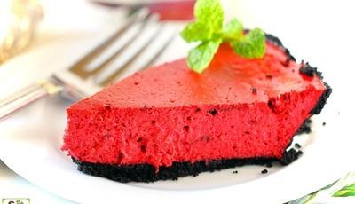Easy Red Velvet Cheesecake for Valentine's Day