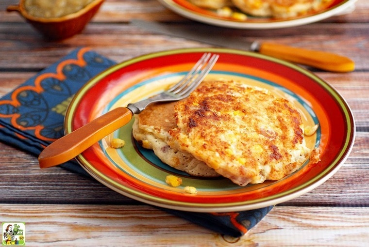 An Easy Recipe for Corn Fritters with Ham for Pancake Day ...