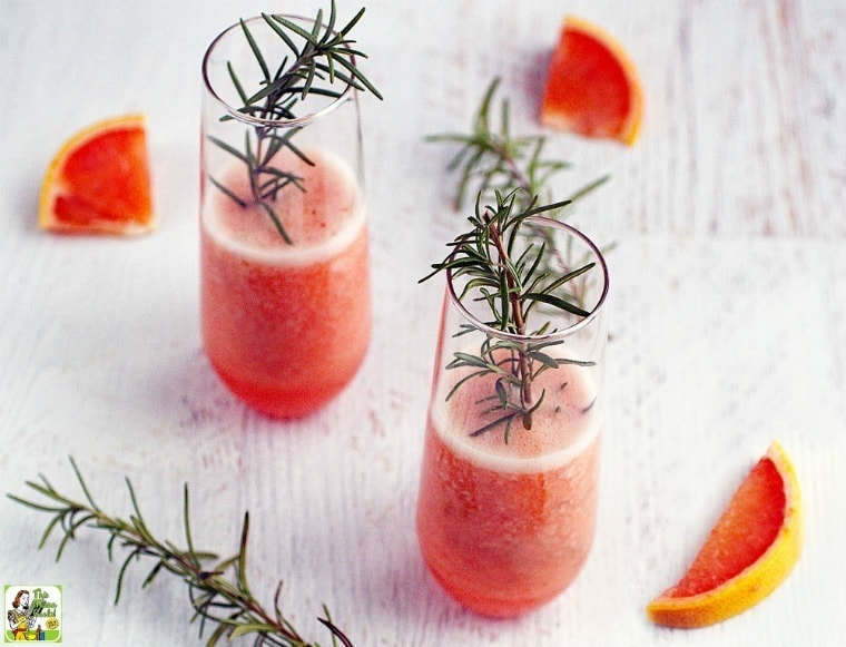 ... party appetizers , why not try some ruby red grapefruit cocktails