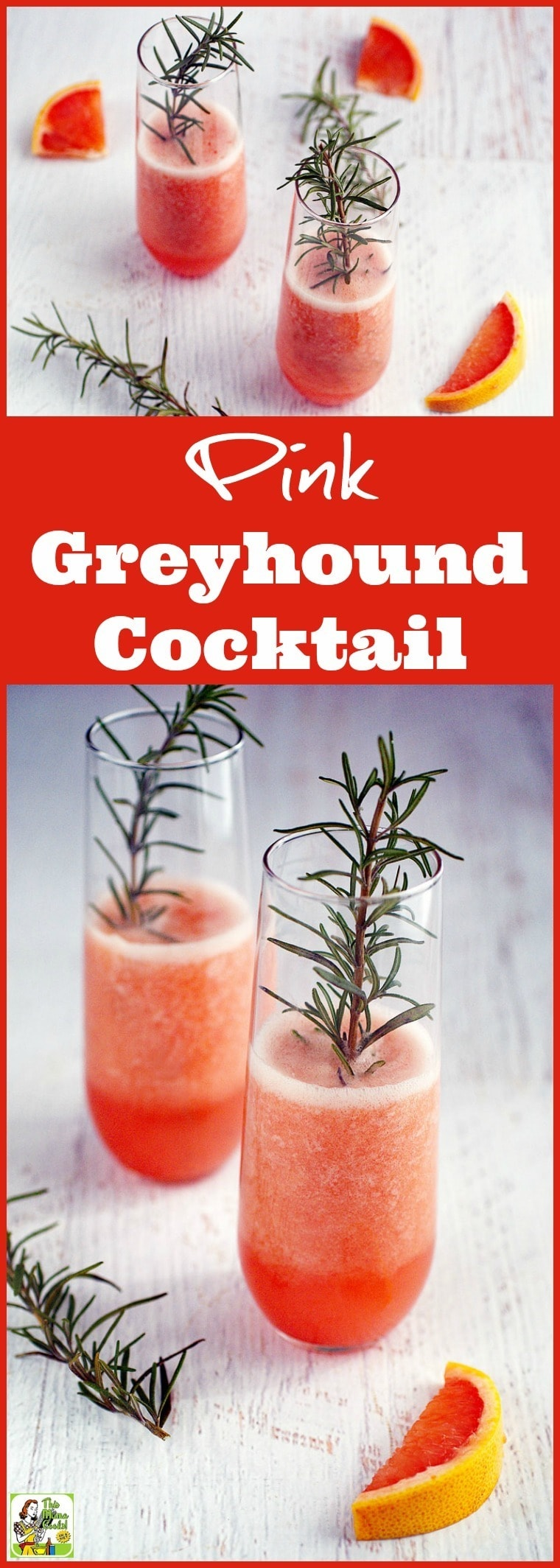 Make this Pink Greyhound Cocktail recipe for your next party. Click to get this easy and refreshing no sugar grapefruit cocktail recipe.