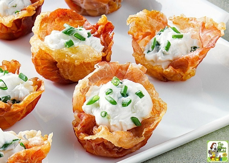 Amazing Prosciutto Cups Appetizer recipe with Goat Cheese Mousse