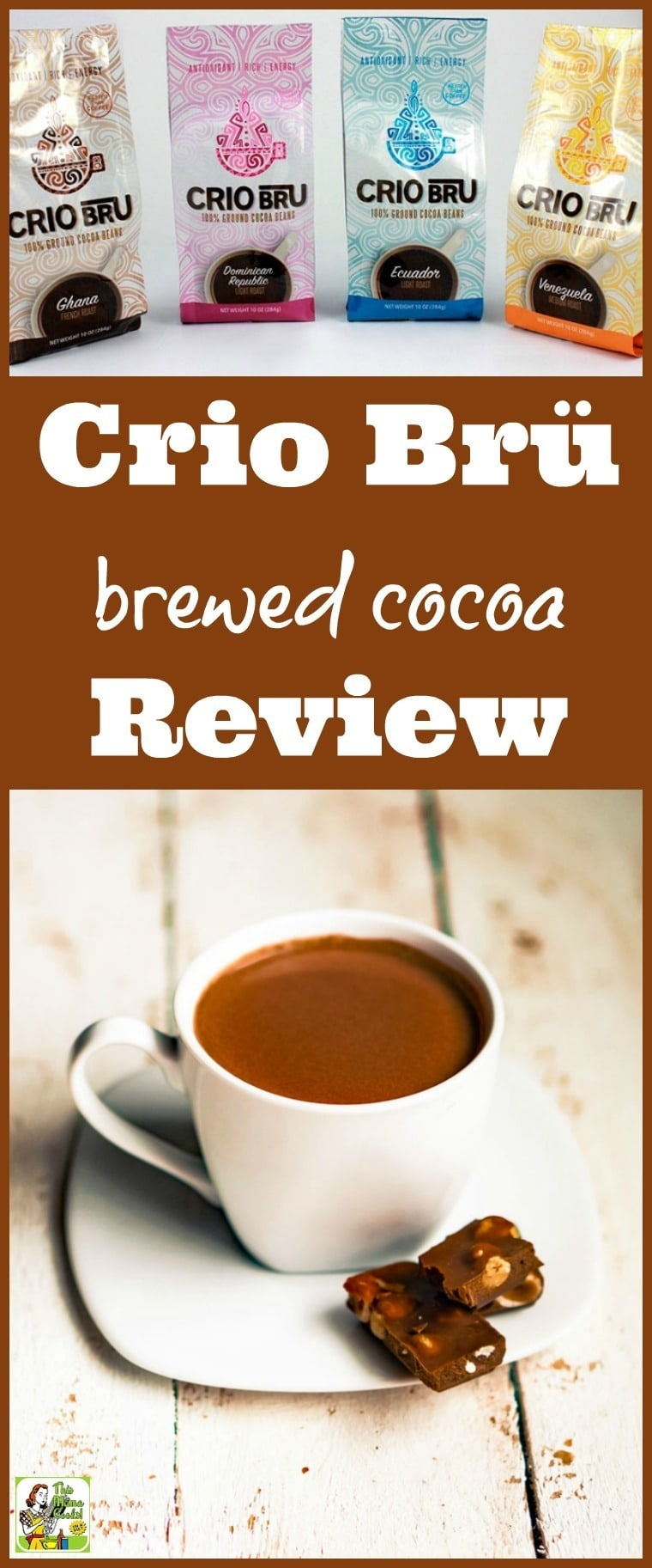 Looking for Crio Bru reviews? Read how Crio Bru brewed cocoa beans are a healthy alternative to hot chocolate or coffee. Includes Crio bean brewing tips.