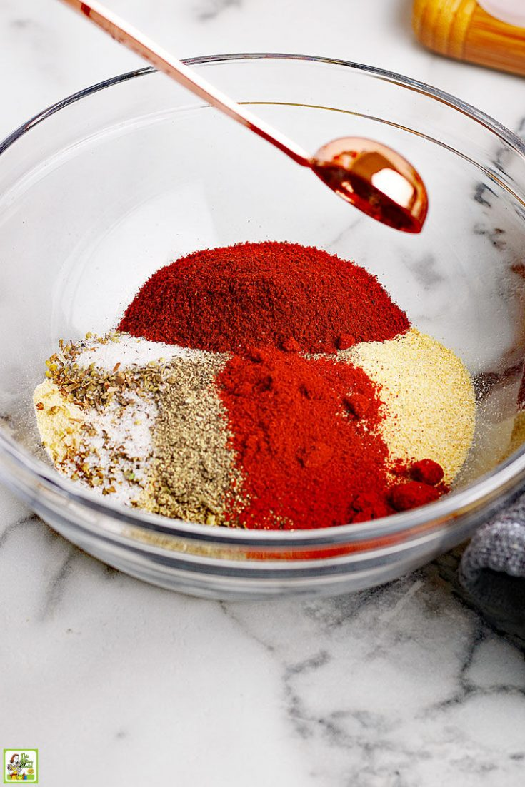 Amazing Homemade Taco Seasoning Mix This Mama Cooks On A Diet