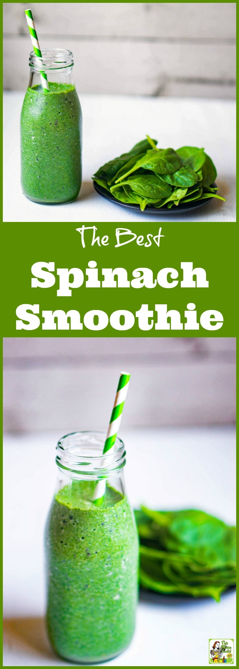 How to Make the Best Spinach Smoothie Recipes from spinach, coconut water, Greek yogurt, and banana and turn it into a healthy fruit smoothie recipe. Comes with a dairy free option. #recipe #easy #recipeoftheday #healthyrecipes #glutenfree #easyrecipes #breakfast #snacks #lowcaloriesnacks #shakes #breakfastsmoothies #smoothies #smoothiesrecipes #yogurt #spinach #bananas #dairyfree