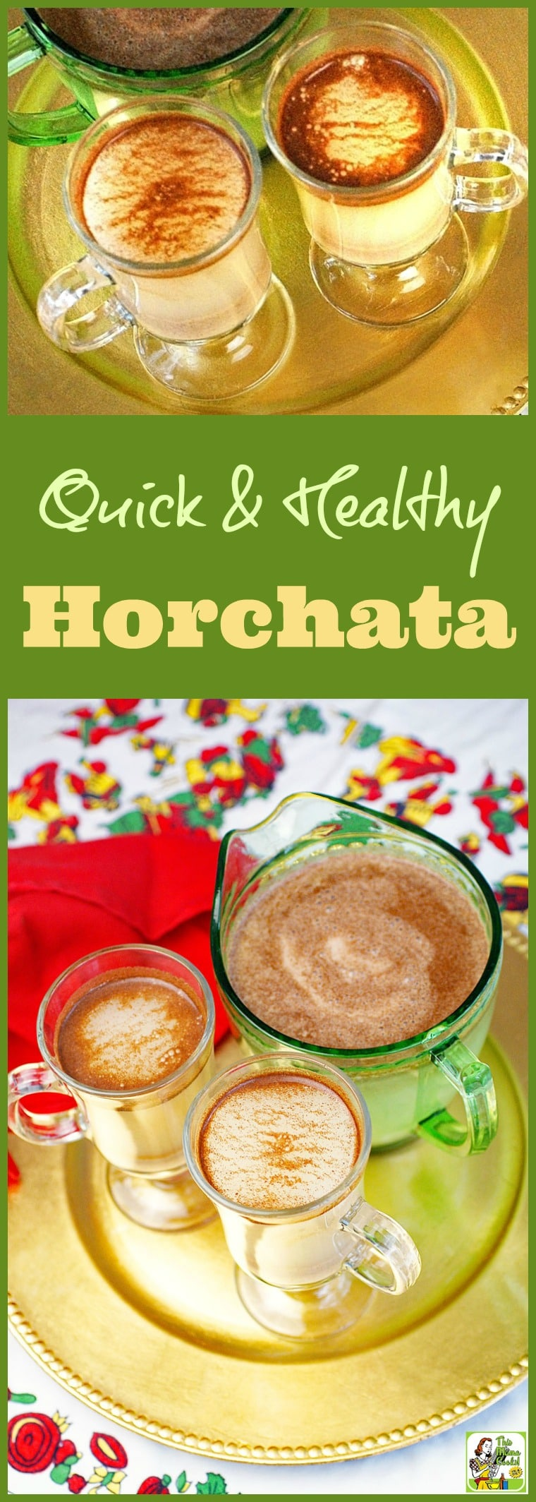 Quick & Healthy Horchata