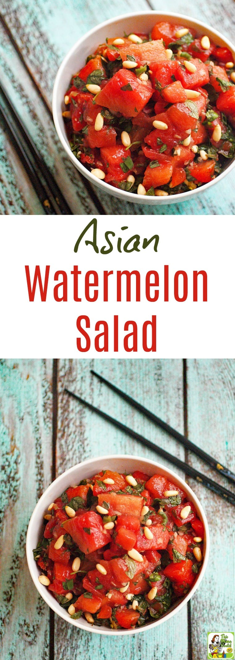 Asian Watermelon Fruit Salad Recipe