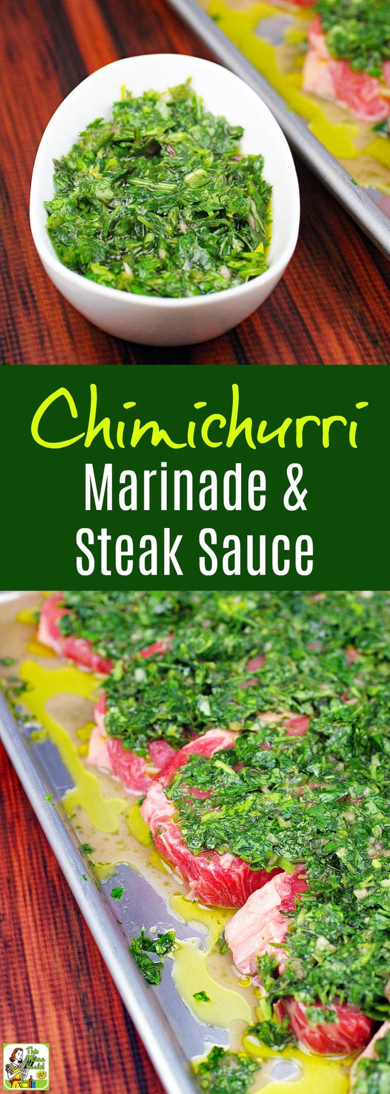 Making the Best Chimichurri Recipe is easier than you think. Click to get this Chimichurri Marinade & Steak Sauce Recipe. Homemade chimichurri sauce is perfect for marinating and serving with grilled skirt steak or flank steak.