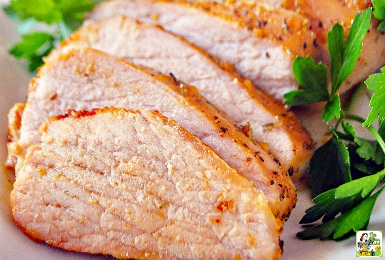 Fig Glazed Pork Tenderloin recipe.
