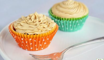 Gluten Free Chocolate Cupcakes with Dulce de Leche Frosting