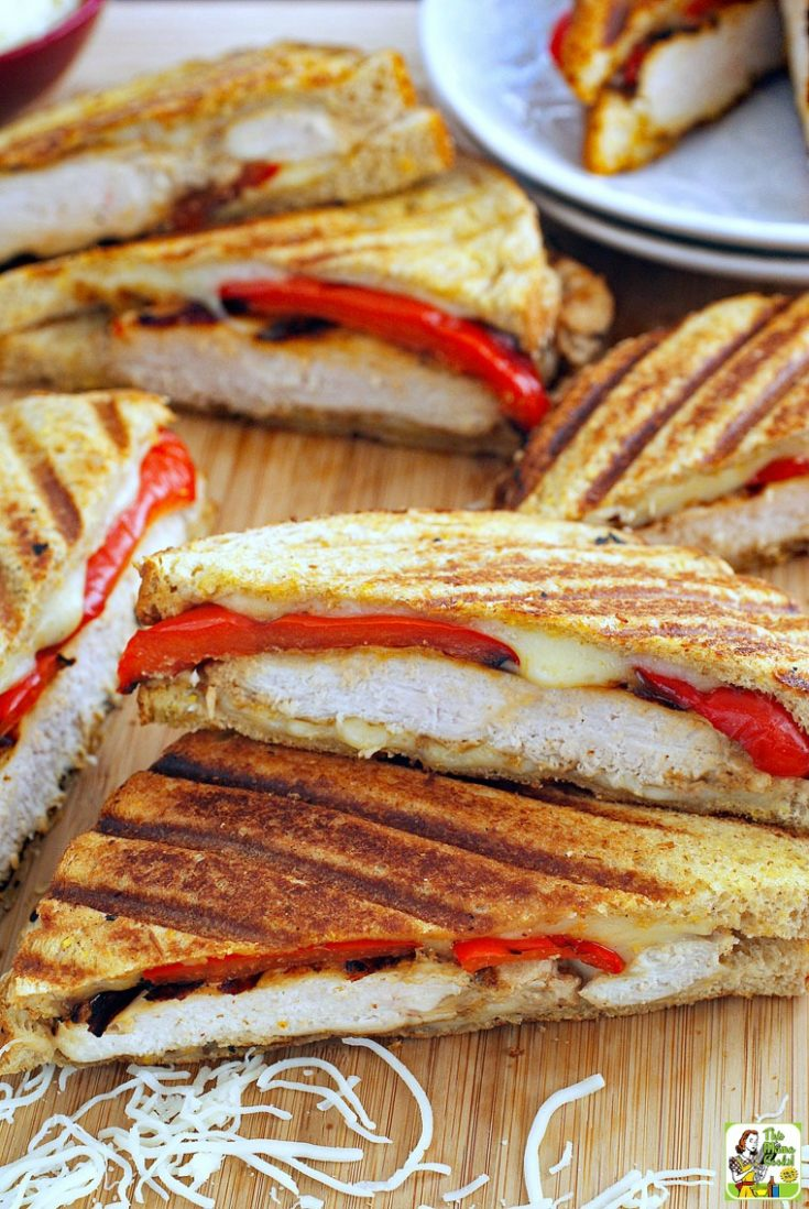 Chicken Panini Sandwich