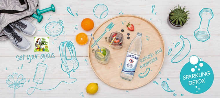 How to do a detox with Gerolsteiner Sparkling Mineral Water
