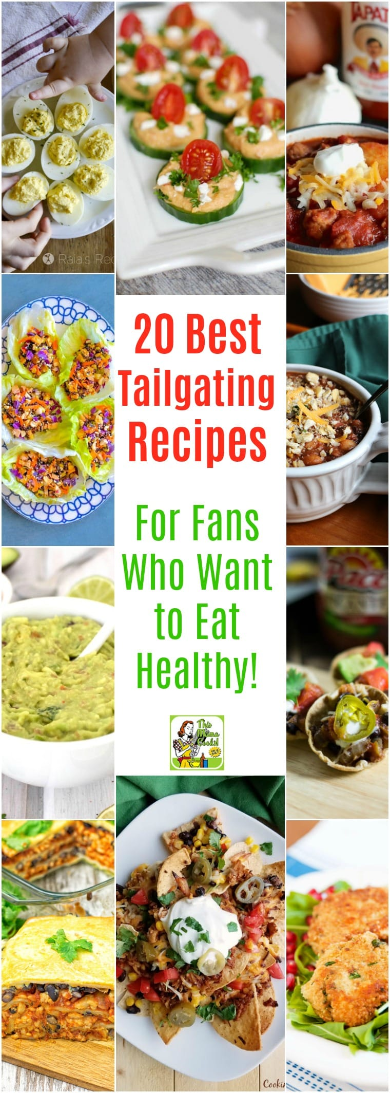 20 Best Tailgating Recipes for Fans Who Want to Eat Healthy!  Tired of going to a tailgating party just to find there's nothing you can eat because of a food sensitivity, allergy or special diet? Here's a collection of delicious top tailgating recipes that will certainly please football fans that want to eat healthy or who are on special diets from gluten free to vegan.