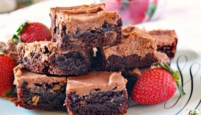 The Ultimate Double Chocolate Brownies Recipe!