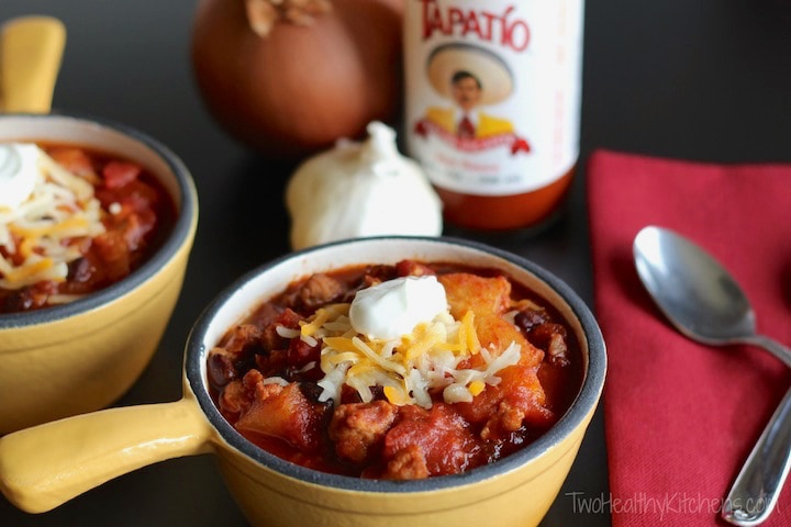 Crock-Pot Crazy Pineapple Chili