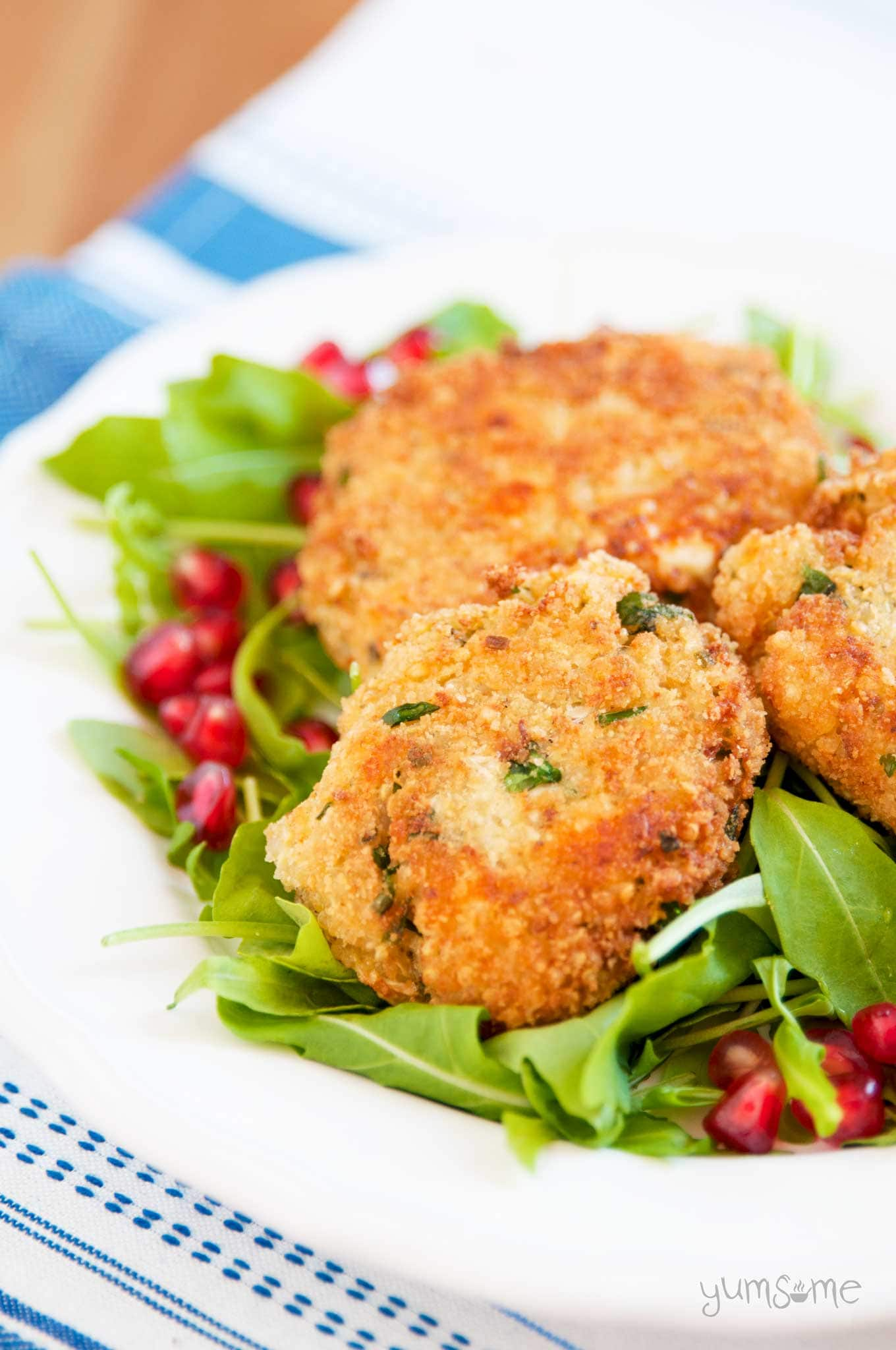Easy Vegan Quinoa and Cheese Patties