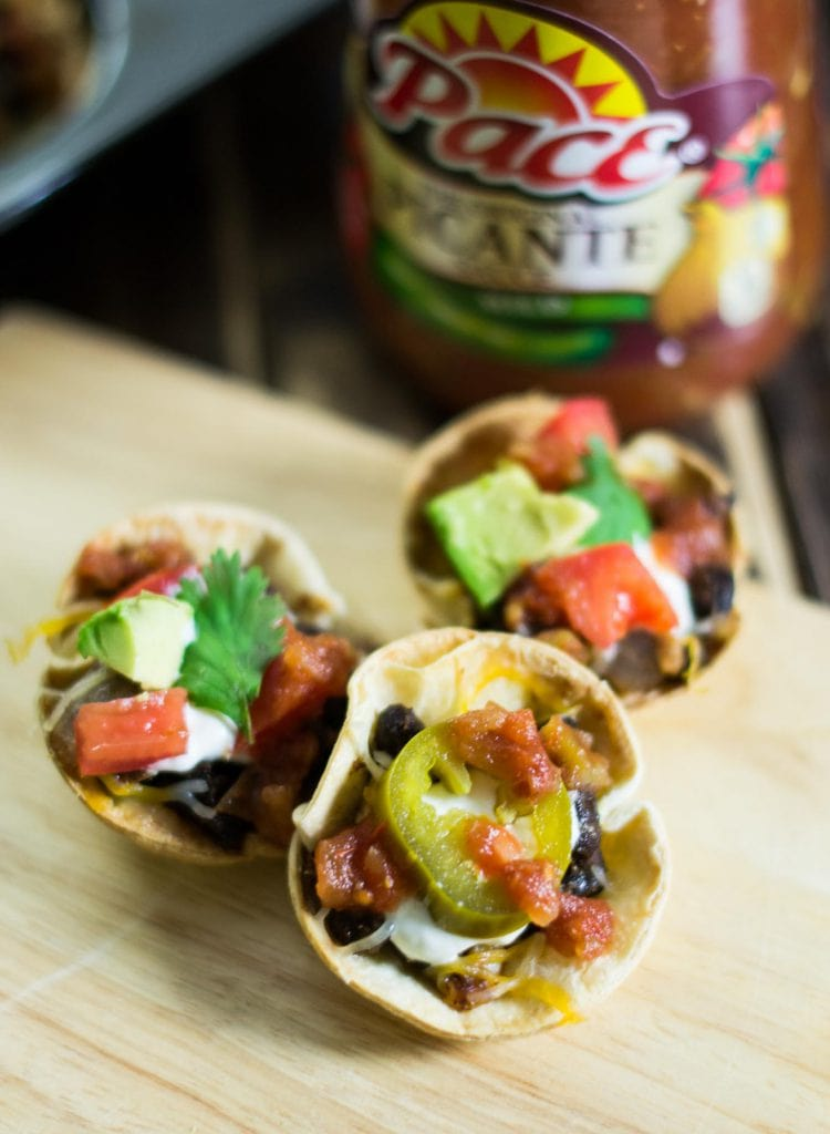 Easy Vegetarian Taco Cups