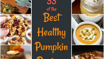 33 of the Best Healthy Pumpkin Recipes: these healthy fall recipes feature vegan, sugar free, low carb, gluten free, dairy free, and paleo pumpkin recipes. Healthy pumpkin recipes include drinks, breads, entrees, side dishes, soups, and dips. You'll find links to healthy pumpkin desserts, healthy pumpkin soup recipes, healthy pumpkin muffin recip
