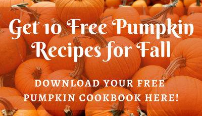 FREE Pumpkin Cookbook: 10 Pumpkin Recipes for Fall