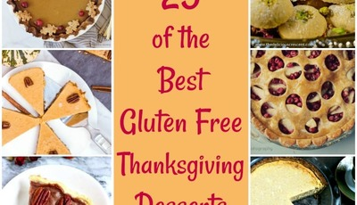 25 of the Best Gluten Free Thanksgiving Desserts