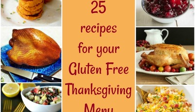 25 recipes for your Gluten Free Thanksgiving Menu