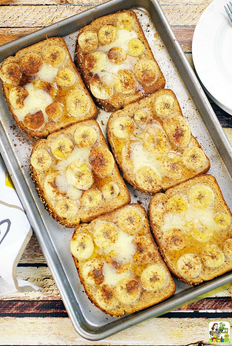 Baked Pumpkin French Toast with Bananas recipe