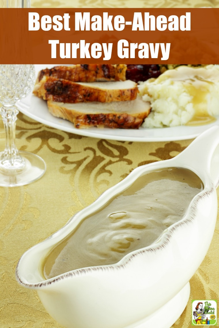Sara Moulton's Best Make-Ahead Turkey Gravy Recipe