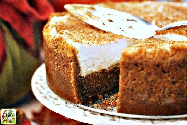 Gluten Free Thanksgiving Desserts - Gluten Free Dairy Free Pumpkin Pie from This Mama Cooks! On a Diet