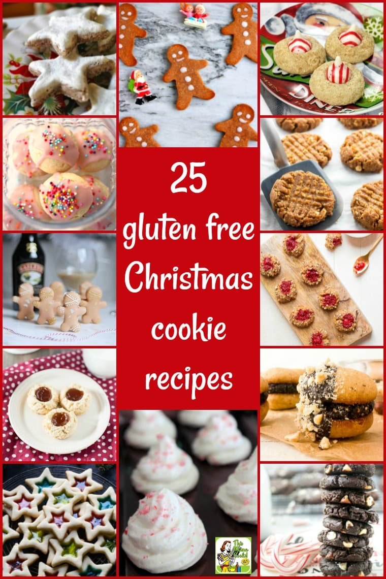 Get these 25 gluten free Christmas cookie recipes for your holiday cookie swap! Features some of the best gluten free cookies recipes for homemade holiday gift exchanges, too! Many of these easy to make cookies are low carb, vegan, keto, paleo, dairy free, allergy free, and healthy! #glutenfree #cookies #Christmas #vegan #lowcarb #dairyfree #allergyfree #paleo #keto #healthyrecipes #cookieswaps #cookieexchanges #holidayrecipes