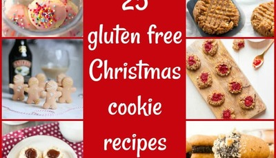 25 gluten free Christmas cookie recipes for your holiday cookie swap
