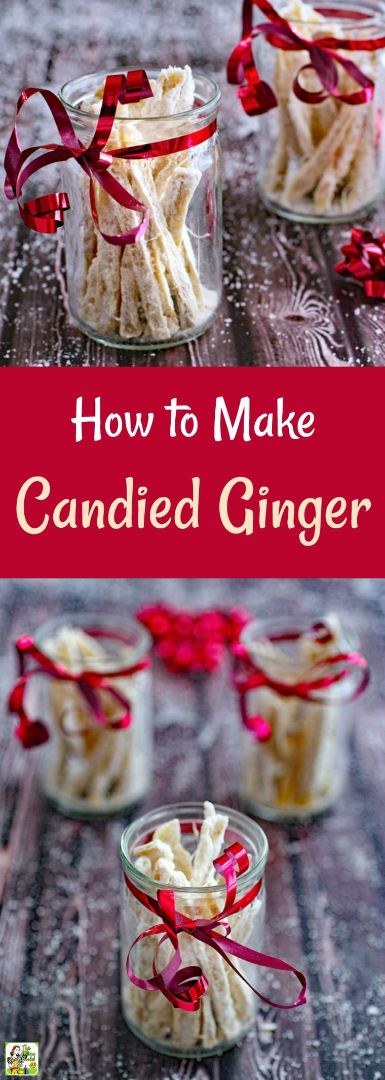 How to Make a Candied Ginger Recipe