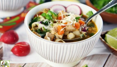 A 30-Minute Pozole Recipe for a cold winter night - or any time!