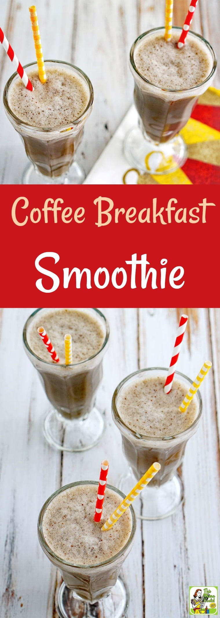 Try this Coffee Breakfast Smoothie recipe as an easy way to start your day with a boost of chocolate flavored coffee, almond milk, and cherries! This easy coffee smoothie recipe makes a healthy afternoon snack or post-workout drink. This coffee shake recipe is dairy free. #coffee #shake #drink #smoothie #dairyfree #almondmilk #cherries #healthydrink #lowcalorie #breakfast #icedcoffee #coffeesmoothie